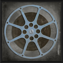 The Artwork Factory - 'Film Reel 9' Print - Flaunt your reel deal film-buff style. This museum quality print on high resolution, acid-free paper makes a striking statement in your decor.