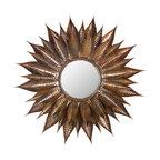 Safavieh - Safavieh Sunflower Cotemporary Mirror X-A1003RIM - Safavieh Sunflower Cotemporary Mirror X-A1003RIM