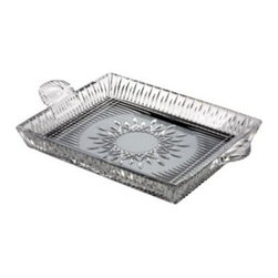 Waterford - Waterford Lismore Diamond 12-Inch Square Serving Tray - Lismore Diamond pattern is a strikingly modern reinvention of the Waterford classic; characterized by intricate diamond cuts rendered in radiant fine crystal.