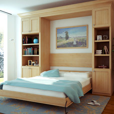 Modern Bedroom by Canyon Creek Cabinet Company