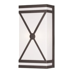 "Livex Lighting - Livex Lighting 9415 14"" Height 2 Light Wall Sconce - Specifications:"
