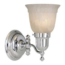 Vaxcel - Vaxcel WL28961CH 1-Light Swing Arm Wall Light Chrome - Vaxcel WL28961CH 1-Light Swing Arm Wall Light Chrome