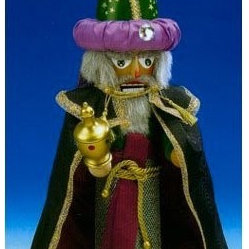 Steinbach 3 Kings Melchior German Nutcracker-Limited Edition-Signed