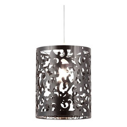 Black Forest Pendant - Our beautiful and detailed Black Forest Pendant is a wonderful piece of accent lighting for any time of year. Classic and ornate, it is especially stunning over a dining table or in a walkway. And with its solid construction, this pendant is built to last.