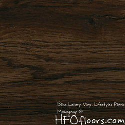 Bliss Luxury Vinyl Lifestyles Plank - Bliss Luxury Vinyl Lifestyles Plank, Mahogany. Available at HFOfloors.com.