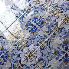Mediterranean Bathroom by Cynthia Lynn Photography