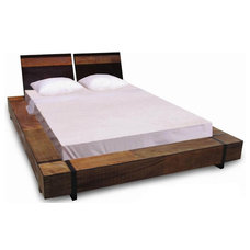 Modern Platform Beds by Woodland Creek Furniture