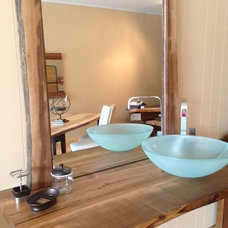 Contemporary Vanity Tops And Side Splashes by Tree Green Team