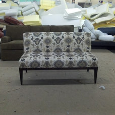 Eclectic Indoor Benches by Monarch Sofas