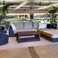 Contemporary Outdoor Sofas by Tammy Thet Htar/Boulevard
