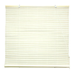 Oriental Unlimited - Shoji Paper Roll Up Blinds in White (24 in. W - Choose Size: 24 in. WideAppealing and stylish with a soft, sophisticated look, this Shoji rice paper blind will bring an element of exotic style to any decor. Featuring a roll up design, the blind is available in your choice of size option, with other colors available separately. Shoji Paper Blinds are a wonderful accent to any room. They are not easy to find. Made of white shoji rice paper.. Easy to hang and operate. 24 in. W x 72 in. H. 36 in. W x 72 in. H. 48 in. W x 72 in. H