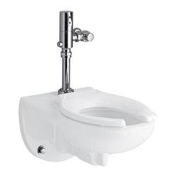 KOHLER - KOHLER K-4325-0 Kingston 1.28 Toilet Bowl with Top Spud, Less Seat - KOHLER K-4325-0 Kingston 1.28 Toilet Bowl with Top Spud, Less Seat in White