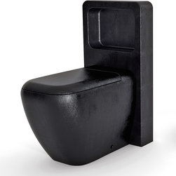 MaestroBath - High End Black Toilet By MaestroBath - Exotic, unique and modern are just a few words to describe the design of this toilet from the Maestrobaht Giungla Collection. You will find unique textures and colors specific to wild animals found in the jungles. We believe in integrating modern and fashionable design all over the house and especially the bathroom. This ceramic toilet is extremely hygienic and easy to maintain and it will make your wildly imagined bathroom a reality. Here is more information related to MaestroBath: Services Provided: Luxury Handmade Italian Vessel Sinks, Modern and Contemporary Kitchen and Bath Fixtures .. Areas Served: All United States and International Countries… Business Description: Maestrobath delivers contemporary and modern handmade Italian bathroom sinks and designer faucets to clients with taste of luxury. It carries a wide selection of beautiful and unique Travertine, Crystal and Glass vessel sinks in variety of colors and styles. Maestrobath services homeowners and designers Globally. Furthermore, it has dealer partners across United States and international countries.