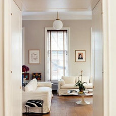 COCOCOZY: ARCHITECT-TOUR: NO LIGHT LOST IN AN EAST VILLAGE TOWNHOUSE!