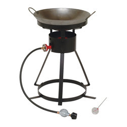 King Kooker - King Kooker 24 in. Wok Outdoor Cooker Multicolor - 24WC - Shop for Fryers and Supplies from Hayneedle.com! About King Kooker King Kooker embodies the spirit of Cajun cooking - they know how to make delicious food and they want to share it with you and yours. With a full range of products designed to help you boil seafood simmer gumbo or jambalaya fry fish steam clams and tackle traditional grilling tasks King Kooker has everything you need to celebrate good eatin'. High-quality materials and experienced design mark a well-made outdoor product and King Kooker a-bayou-t as good as it gets.