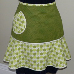 Flirty Skirt Hostess Apron - I always appreciate a pocket on an apron. I like the fabric and the cute ruffle in the bottom of this one.