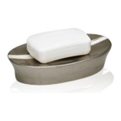 Belle & June - Mother of Pearl Espresso Oval Soap Dish - Your soap will have an inferiority complex when you introduce it to this gorgeous, mother of pearl and gold leaf finish soap dish. Maybe you should use it to store your best diamond earrings instead.