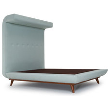 Midcentury Beds by Thrive Home Furnishings