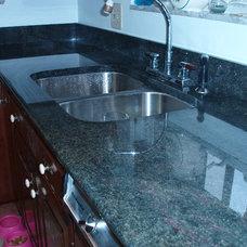 Traditional Kitchen Countertops by Kitchenrama