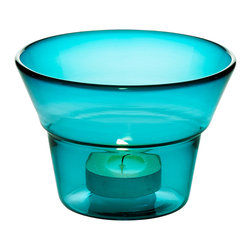 Niche Modern - Meridian Votive - Strike a match and mark the moment with a Niche Modern handblown glass votive. In vibrant, luxurious new colors which are sure to bring a sense of ceremony and celebration to any table top.