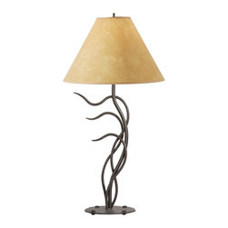 Stone County Iron Works - Breeze Natural Black Table Lamp - Stone County Iron Works 901-608 Breeze Natural Black Lodge/Rustic Table Lamp