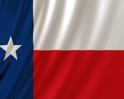 Zeckos - Texas Flag Fabric Shower Curtain Lone Star Texan - Show off your Texas pride with this State of Texas flag shower curtain. Made of 100% polyester, it's mildew resistant and machine washable. The curtain measures 70 inches by 72 inches, with extra strong buttonhole sewn holes for the included curtain rings. This shower curtain will really brighten up your bathroom. These won't last long, so don't delay. Get yours now