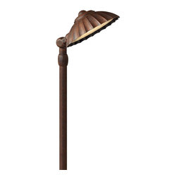 Hinkley Lighting - Hinkley Lighting Shell Outdoor Path Light with Swivel X-CS8551 - Finish: Southern Clay.