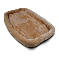 MAJESTIC PET PRODUCTS - Honey Crate Pet Bed Mat - Give your pet the best possible rest with this plush bedding. This luxe mat comes in a variety of chic colors and sizes, so you can fit it perfectly to fit your pet's crate. Cushion and cradle your pet with comfort and style!