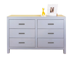 Newport Cottages - Ricki 6-Drawer Dresser - This chic six-drawer dresser is modern, durable and decidedly elegant. With clean lines and sturdy craftsmanship, it has all the style and storage your kid will ever need, from toddler to teenager.