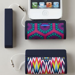 Jonathan Adler - Jonathan Adler On-The-Go iPhone 5 Charger - When your phone needs that extra boost to get you on your way, this On the Go charger is here to save the day! Never let your busy social life be hindered by a low iPhone® 5 battery charge again! Made of plastic, metal, and rubber. Available in....