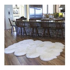 100% Genuine Sheepskin Rug - 70&quot; x 86&quot;