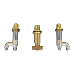 Toto - Toto TB6TR Deck-Mount Tub Filler Valve - Toto TB6TR Deck Mount Tub Filler Rough-in Valve is constructed of resilient Bronze for long life and meets or exceeds the requirements of ASME A112.18.1 CSA B125.1 is IAPMO Certified and meets UPC IPC NSPC NPCC Codes.