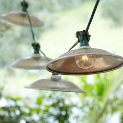 eclectic lighting by Pottery Barn