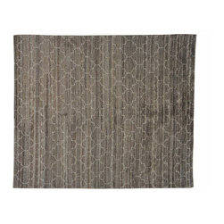 1800-Get-A-Rug - Taupe Moroccan Berber Oriental Rug Hand Knotted Thick and Plush Sh20808 - Our Modern & Contemporary hand knotted rug collection contains some of the latest designs in the industry. The range includes geometric, transitional, abstract, and modern designs; from the Tibetans to the Gabbeh. We offer an entire line of contemporary designs, whether you're searching for sophisticated and muted to the vibrant and bold handmade rugs.