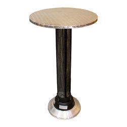 AZ Patio Heaters - Bar Height Pub Table with Built in Electric Heater - Bar Height Pub Table with Built in Electric Heater.