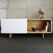 Modern Media Storage by YLiving.com