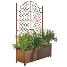 Traditional Outdoor Planters by H Potter