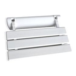 SteamSpa - C6 Acrylic Folding Shower Seat Wall Mounted Bench by SteamSpa - DESCRIPTION