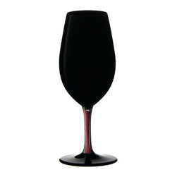 Riedel - Riedel Sommeliers Black Series Collector's Edition Vintage Port Glass - You've had a perfect evening, and now it's time for the denouement. May we suggest serving port in these impeccable black lead crystal glasses — a special touch that's sure to be remembered.