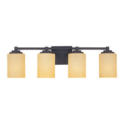 Designers Fountain - Designers Fountain 83204-ORB 4-Light Bath Bar - Designers Fountain 83204-ORB 4-Light Bath Bar