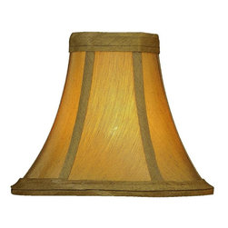 """Lite Source - Sage Clip-On Candelabra Shade 3"""" Top x 6"""" - Beautiful and Simple Candelabra Lamp Shade."""