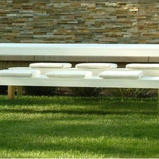 Modern Outdoor Dining Tables by AllModern
