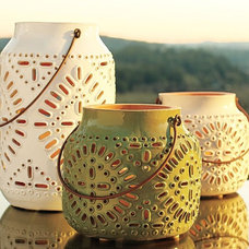 Eclectic Candles And Candleholders by Pottery Barn