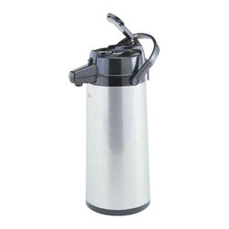 Bloomfield Industries - Lever Airpot 2.2 Liter - Bloomfield Commercial grade 2.2 liter (74 oz), stainless shell, glass lined, lever activated.