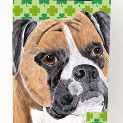 Caroline's Treasures - Boxer St. Patrick's Day Shamrock Portrait Michelob Ultra Koozies for slim cans - Boxer St. Patrick's Day Shamrock Portrait Michelob Ultra Koozies for slim cans SC9310MUK Fits 12 oz. slim cans for Michelob Ultra, Starbucks Refreshers, Heineken Light, Bud Lite Lime 12 oz., Dry Soda, Coors, Resin, Vitaminwater Energy, and Perrier Cans. Great collapsible koozie. Great to keep track of your beverage and add a bit of flair to a gathering. These are in full color artwork and washable in the washing machine. Design will not come off.