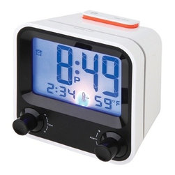 Kito - 3 3/8 Inch Battery Powered HD LCD Time/Temperature/Alarm Display Clock - This gorgeous 3 3/8 Inch Battery Powered HD LCD Time/Temperature/Alarm Display Clock has the finest details and highest quality you will find anywhere! 3 3/8 Inch Battery Powered HD LCD Time/Temperature/Alarm Display Clock is truly remarkable.