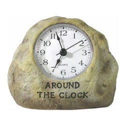 "WL - 3.5 Inch ""ROCK AROUND THE CLOCK"" Inscription Desk Timekeeper Clock - This gorgeous 3.5 Inch ""ROCK AROUND THE CLOCK"" Inscription Desk Timekeeper Clock has the finest details and highest quality you will find anywhere! 3.5 Inch ""ROCK AROUND THE CLOCK"" Inscription Desk Timekeeper Clock is truly remarkable."