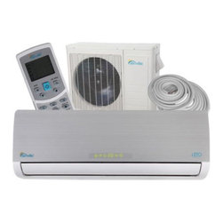 Senville - Senville Leto Ductless Mini Split Air Conditioner and Heat Pump - This 18000BTU Leto Mini Split Air Conditioner by Senville is one of the latest high-end split unit on the market. Providing you with a various of features including, SEER 17.2, 18000BTU Cooling, 18000BTU Heat Pump, Turbo Mode, Ionizing Air Filter, Dehumidification, Follow Me Function, Timer Function and much more.