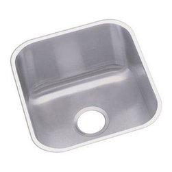 Elkay - Elkay Dayton Undermount Kitchen Sink, Stainless Steel (DXUH1618) - Elkay DXUH1618 Dayton Undermount Kitchen Sink, Stainless Steel