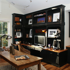 Traditional Home Office by Faralli Kitchen and Bath Design Studio